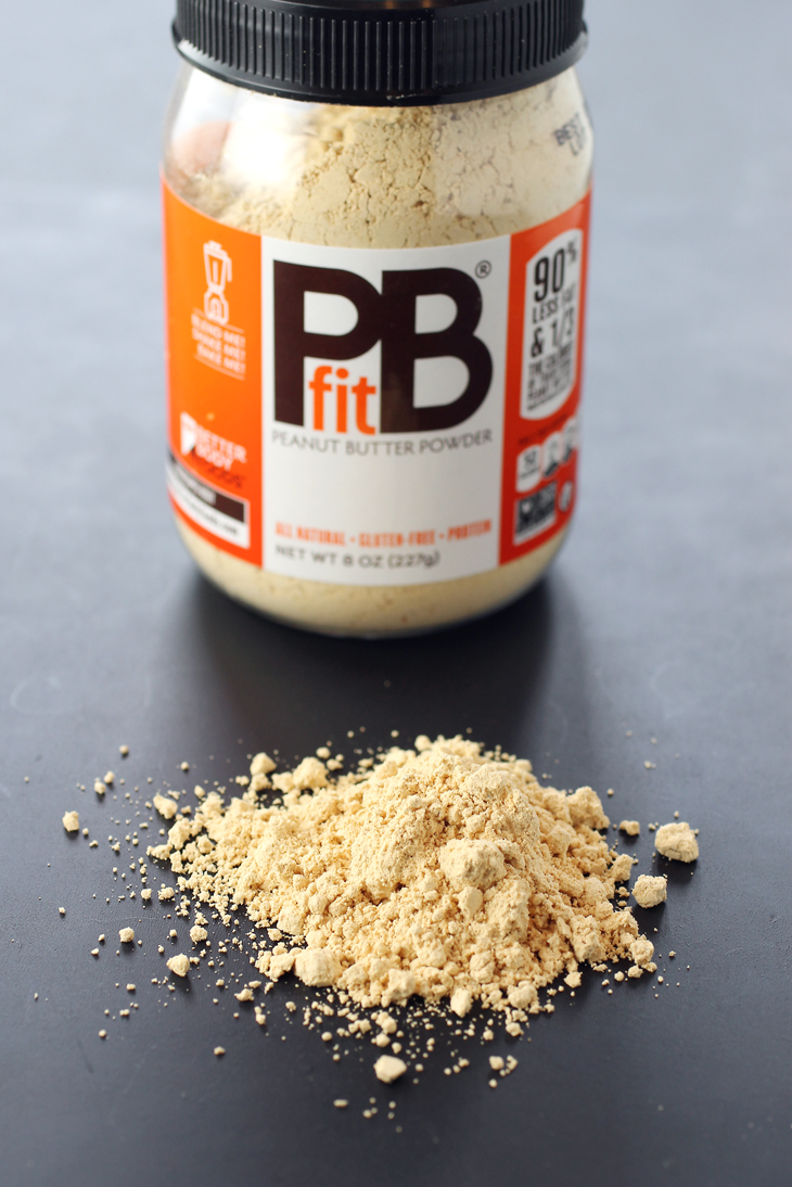 Peanut butter powder -- with all the flavor but a whole lot less fat.