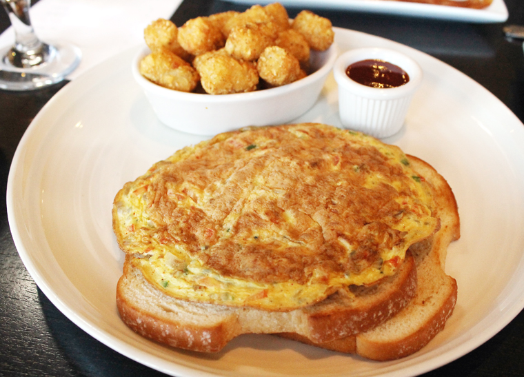Masala omelet.