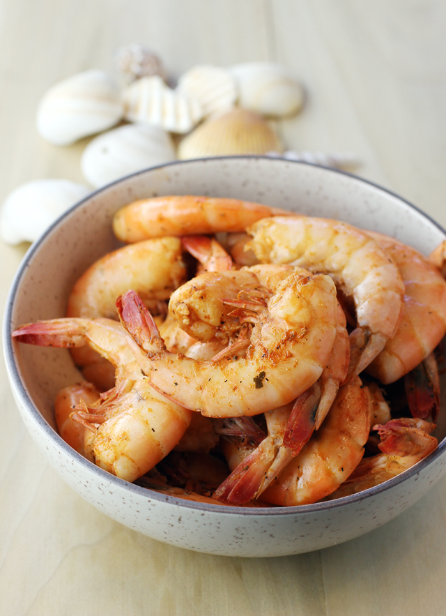 Prepare to get messy with peel-and-eat shrimp.