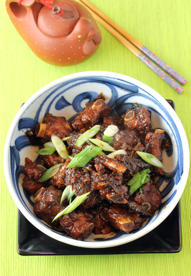Not your usual sweet-and-sour pork.