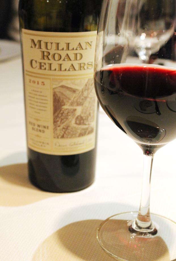 A taste of Mullan Road winery.