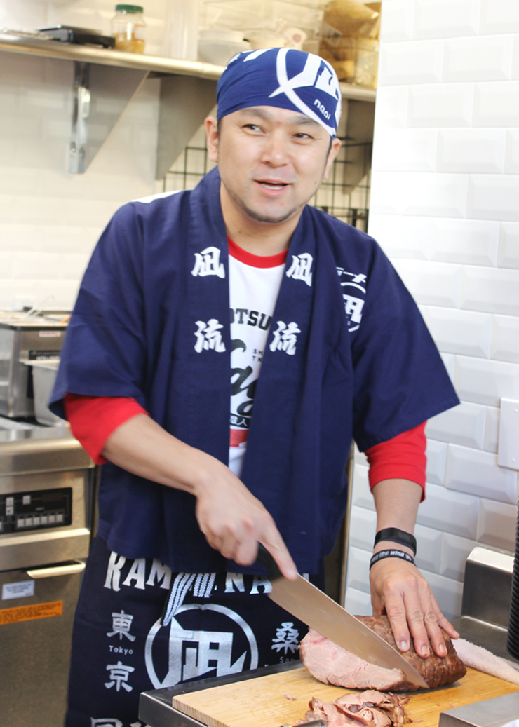 Chef-Owner Satoshi Ikuta realizes a dream by opening his first U.S. branch of his Ramen Nagi.