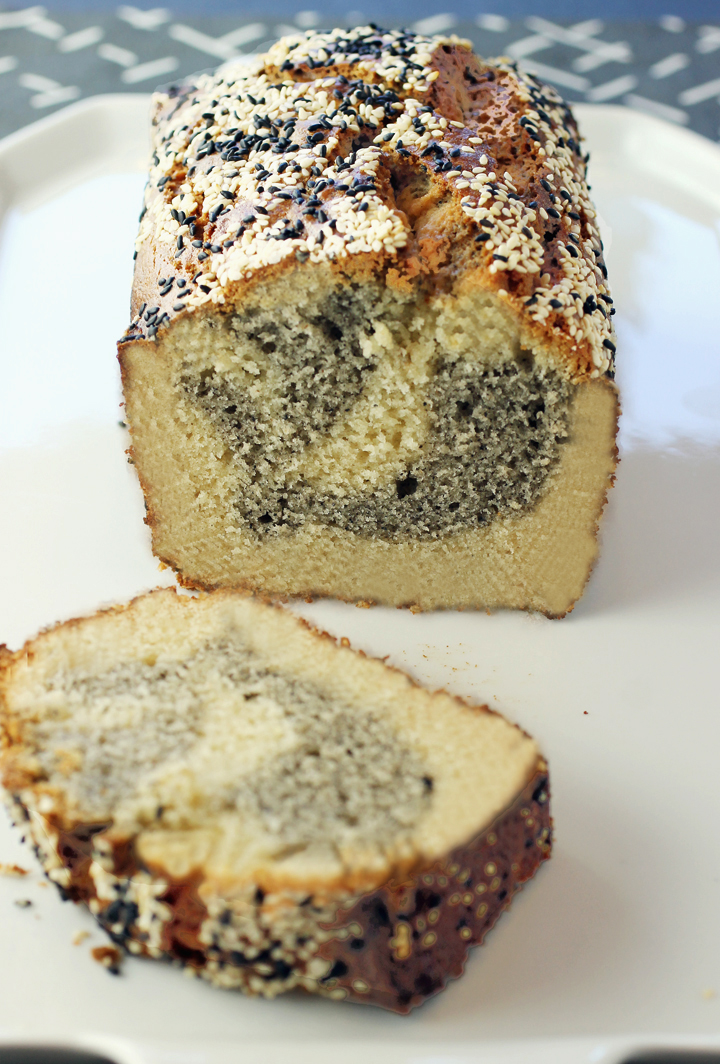 The taste of sesame galore in this tea cake made with a new artisan tahini.