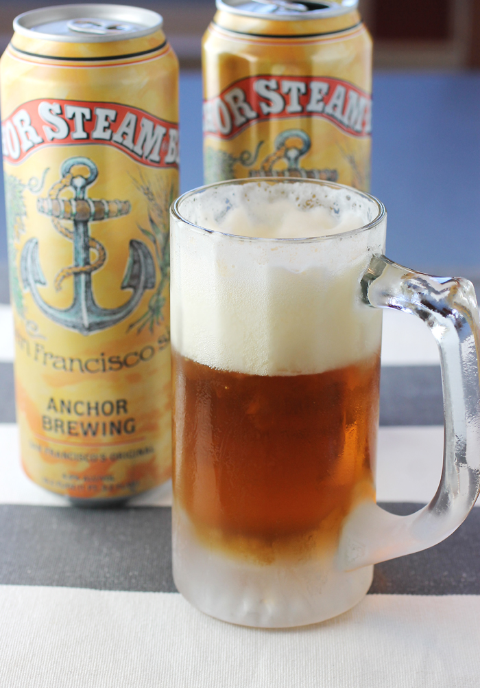 Anchor Steam's flagship beer is now available in cans.