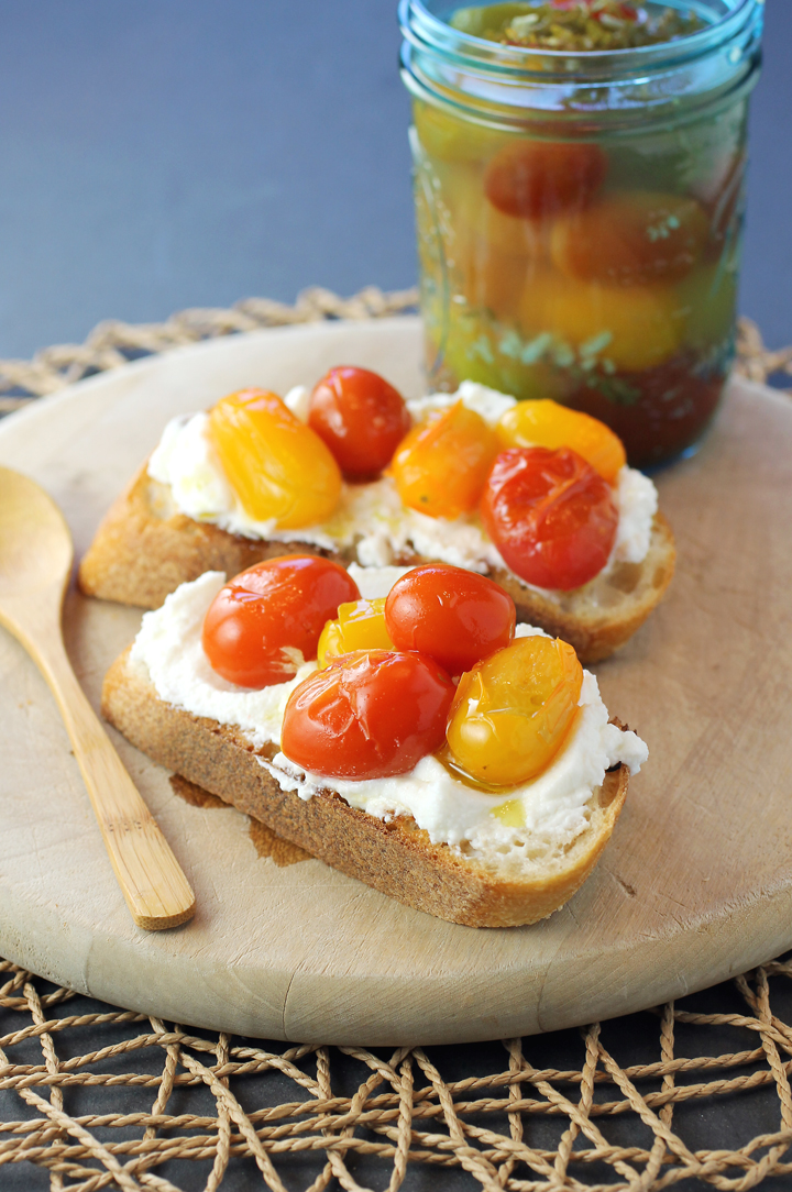 Add ricotta to your equation of bread plus tomatoes for a summer treat.