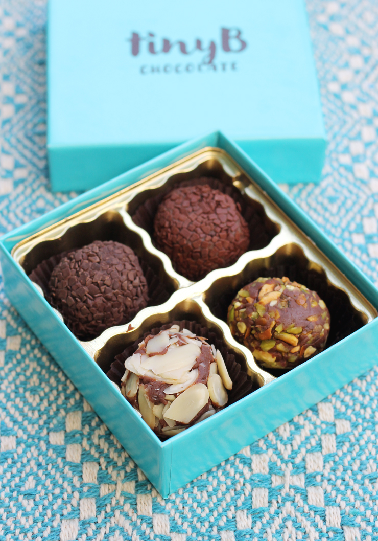 Brazilian brigadeiros to indulge in.