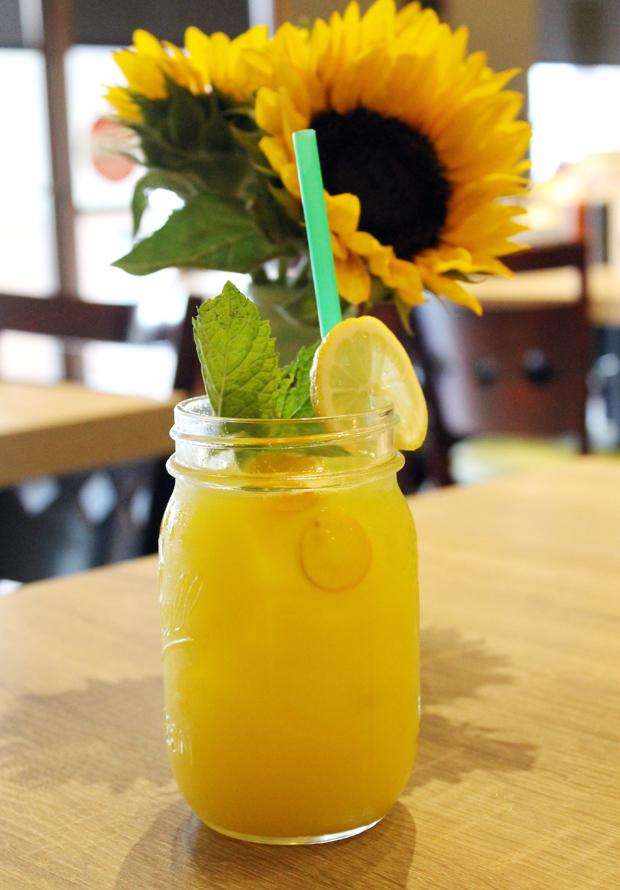 Kumquat lemonade.