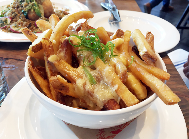 Duck confit poutine to devour.