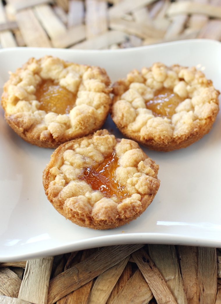 A variation on the usual thumbprint cookies, and made with Jamnation jams.