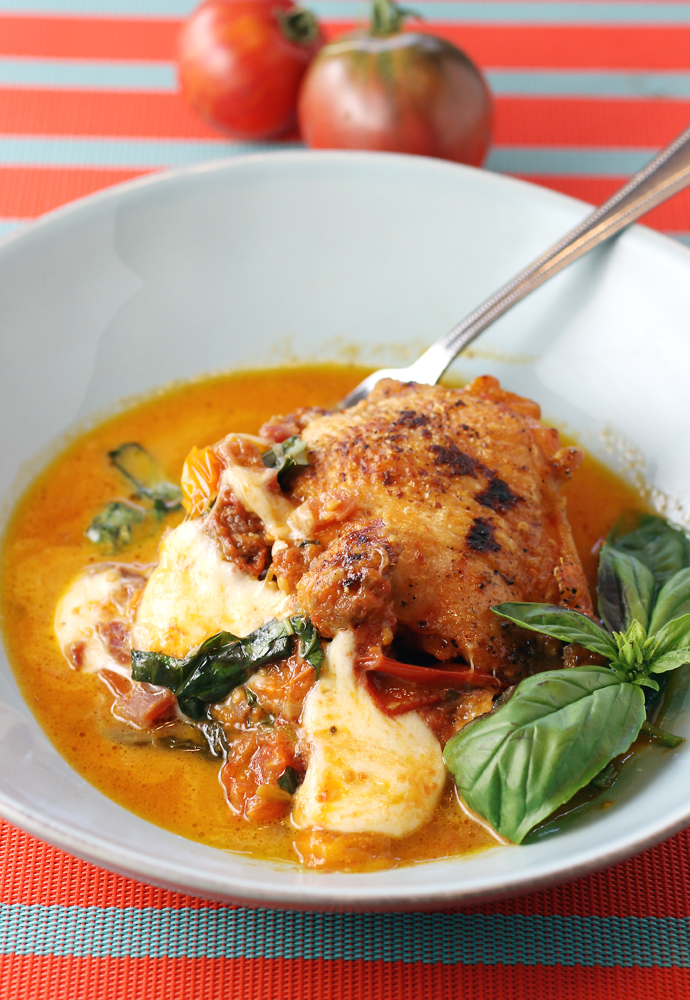 Who can resist a dish with melty mozzarella?