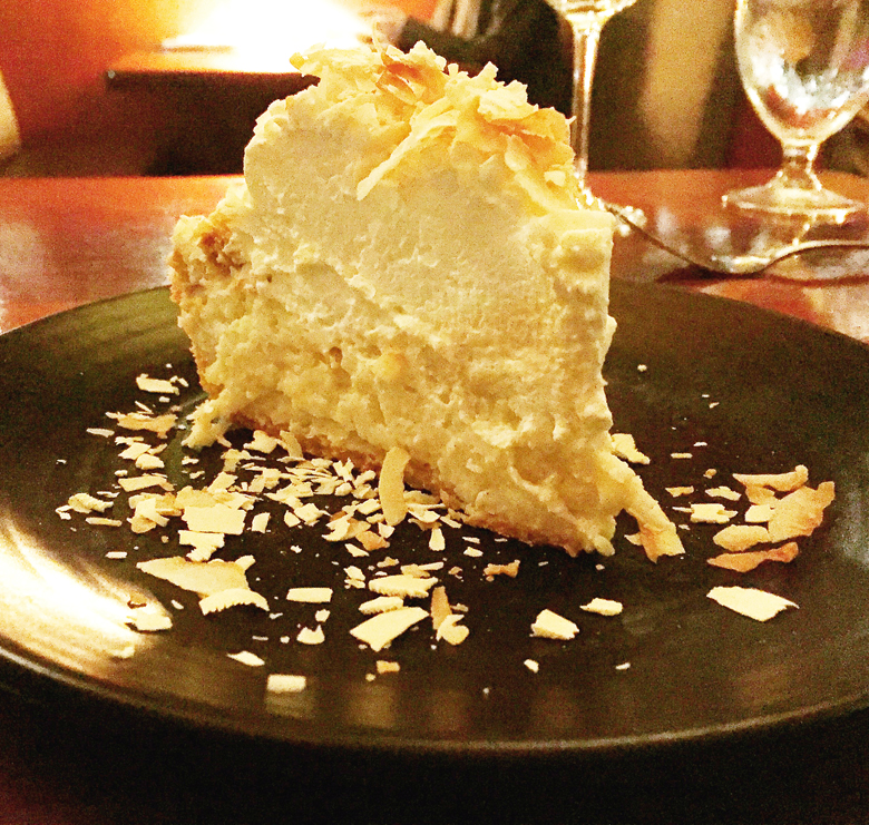 Presenting the Triple Coconut Cream Pie.