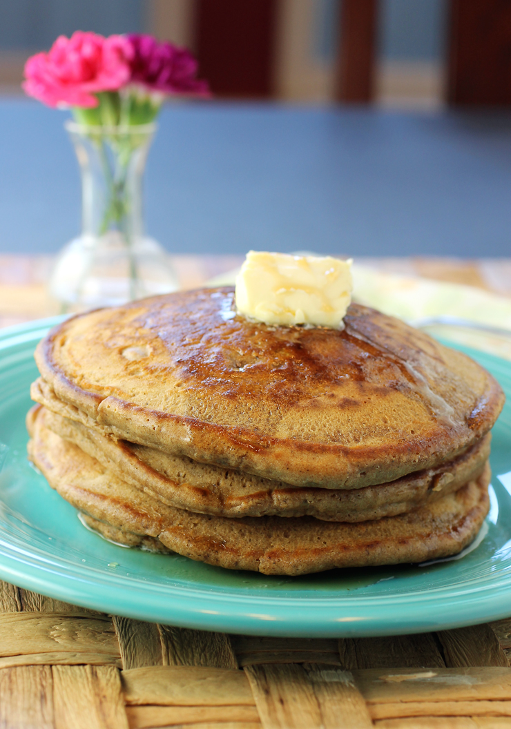 This time of year cries out for gingerbread pancakes.