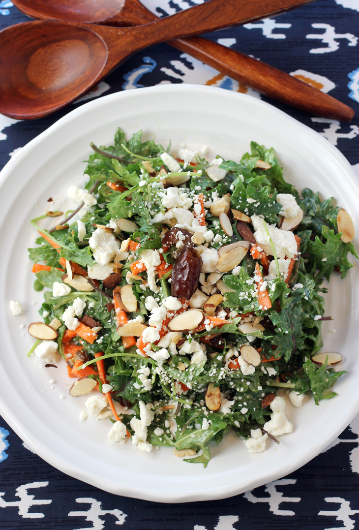 Not your typical kale salad by any means.
