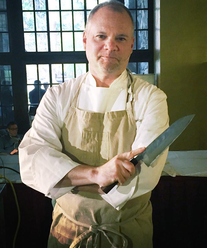 Chef Adam Mali.