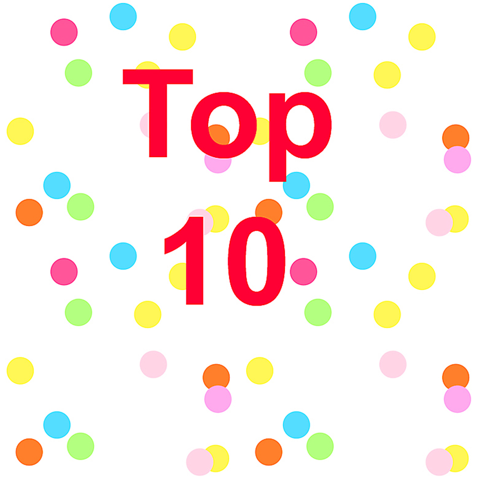Top Ten 2018 Confetti