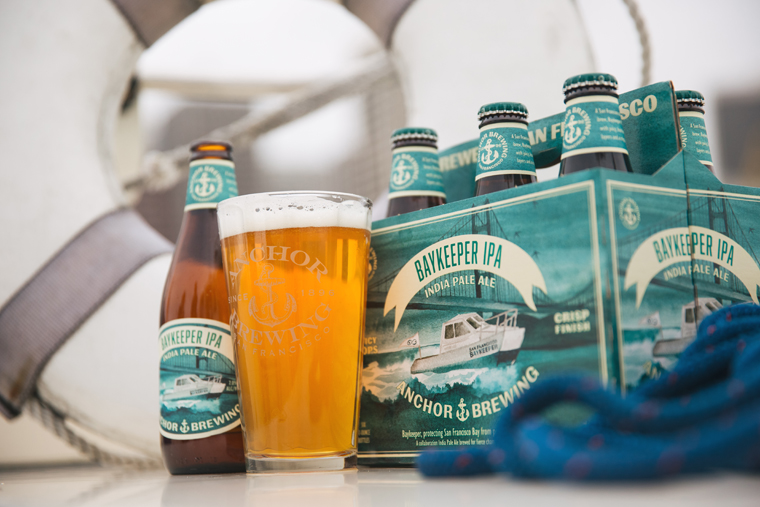 Kick back with the new Baykeeper IPA. (photo courtesy of Erin Conger/Anchor Brewing)