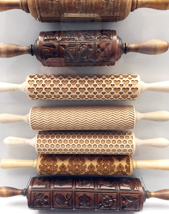 Gorgeous rolling pins.