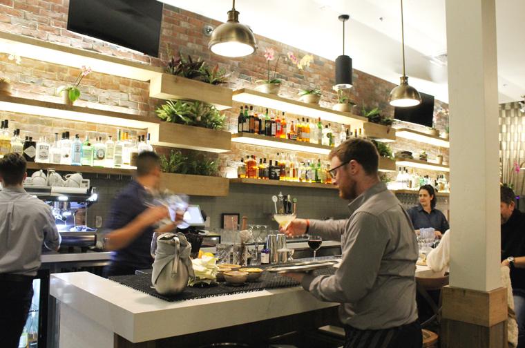 The bar scene.