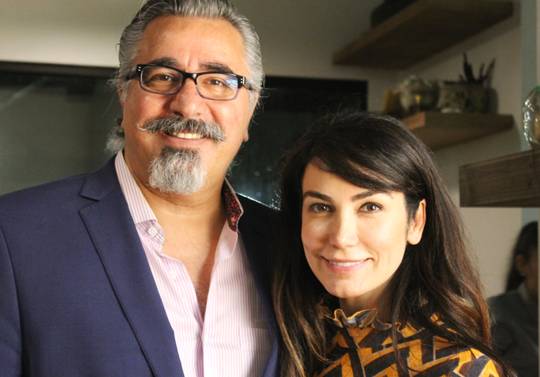 Consultant Hoss Zare and Owner Mehrasa Bagheri.