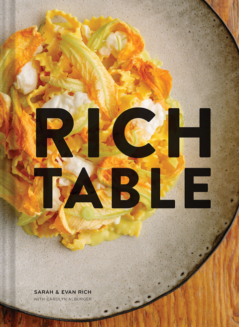 Rich Table cookbook