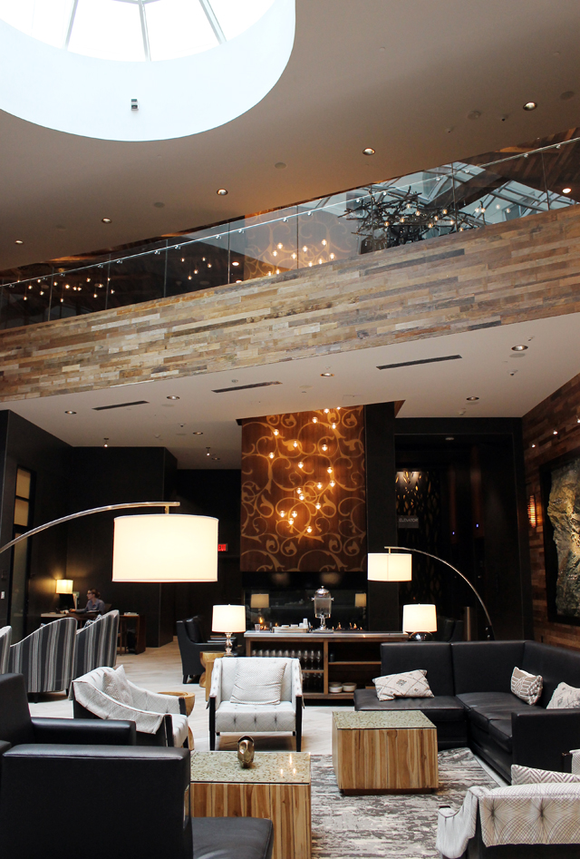 Archer Hotel lobby.