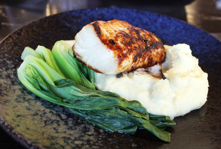 A delectable butterfish.