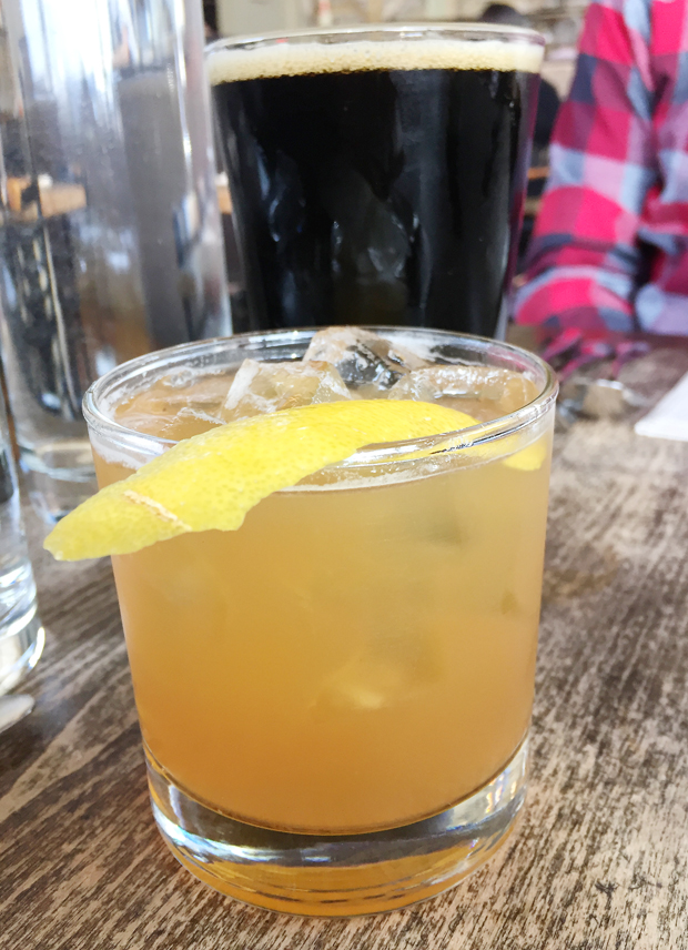 """""""The Porch Swing'' cocktail."""