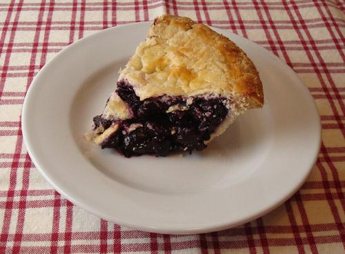 Olson's cherry pie