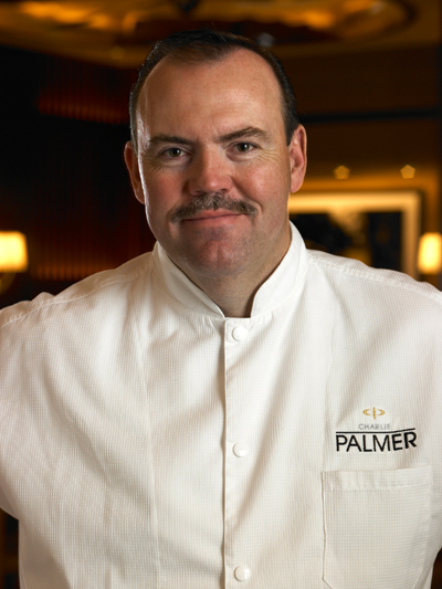 Chef Charlie Palmer. (Photo courtesy of Dan Waldbridge)