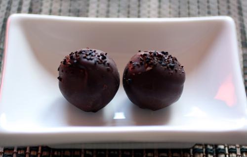 Vietnamese coffee truffles