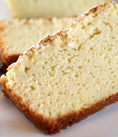 The woman behind the best ricotta pound cake ever.