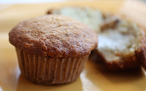 Not your ordinary banana muffin.