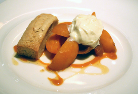 Juicy, sweet apricots get the star treatment in this dessert.