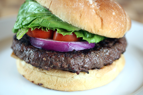 A burger so flavorful, you won't know what hit you.