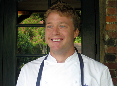 The French Laundry's new chef de cuisine. (Photo courtesy of the French Laundry)