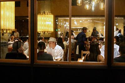A throng of diners at Bocanova. (Photo courtesy of Ashley Teplin)