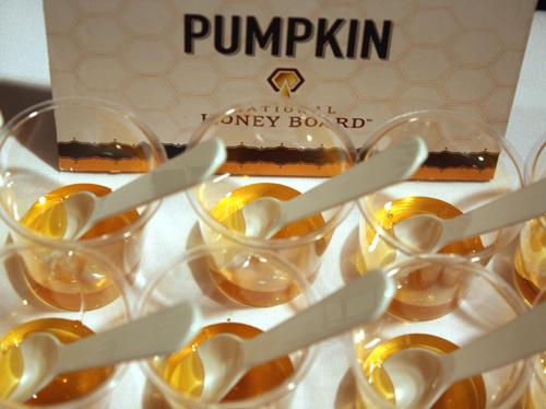 A tasting of honey.