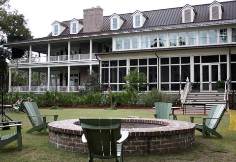 The grand Inn at Palmetto Bluff.