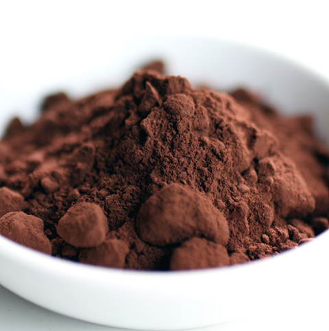 Look at the color of this cocoa powder.