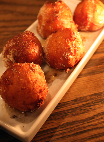 Ricotta fritters. Can't eat just one.