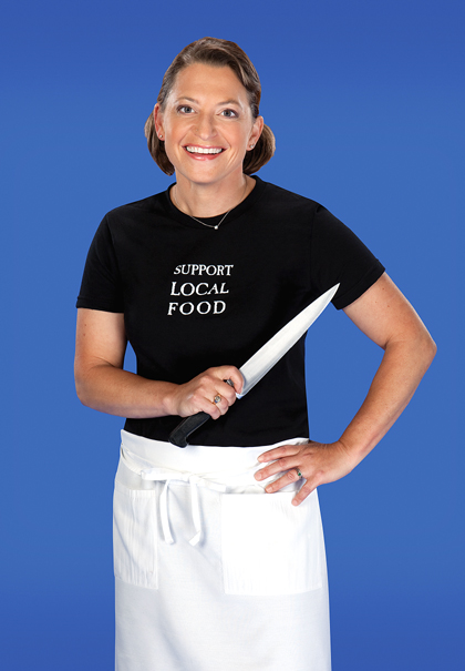Tune in to watch Duskie Estes of Bovolo and Zazu restaurants in Sonoma County. (Photo courtesy of the Food Network)