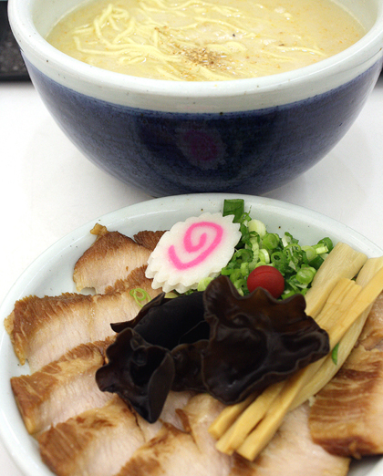 Tokusen Toroniku ramen at Santouka comes with extra slices of super juicy pork.