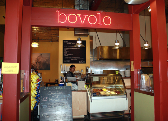 Bovolo, llocated in the back of a bookstore in Healdsburg. (Photo by Carolyn Jung)