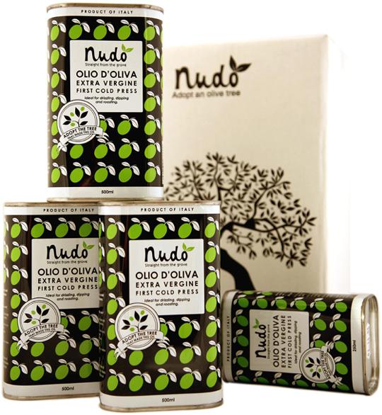 Nudo Italian olive oil. (Photo courtesy of Nudo)