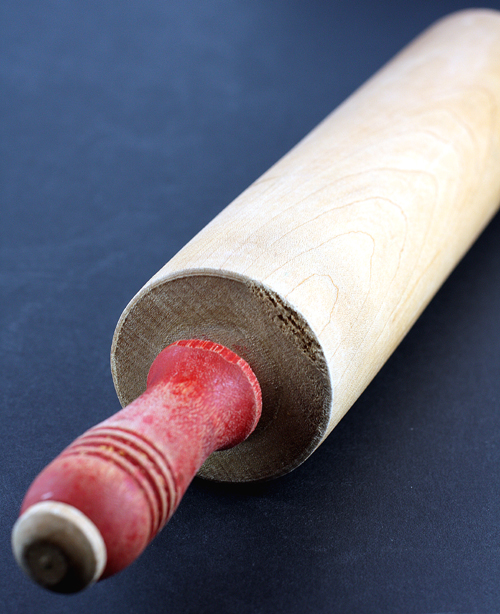 The family rolling pin.