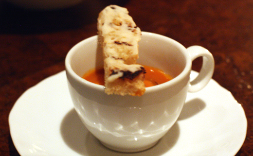 The tiniest cioppino ever.