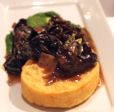 Tender, out-of-the-shell escargot.