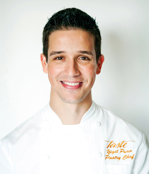 "Yigit Pura dishes on his victory in ""Top Chef Just Desserts.'' (Photo courtesy of Pura)"