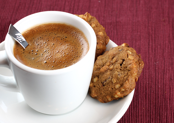 These cookies are perfect for a cup of coffee.