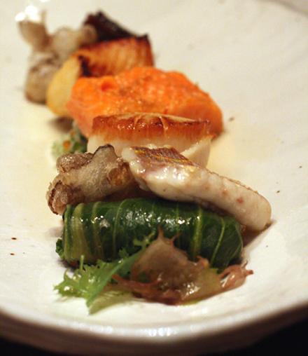 "The ""Five Seas Tasting of Japanese Fish.''"
